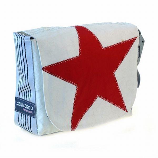 Canvasco Urban Bag Canvas S - Red Star