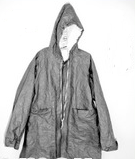Coat with hood