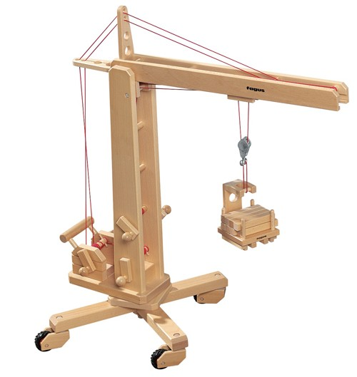 Rotating Crane