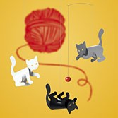 Flensted Mobiles – Kitty Cats