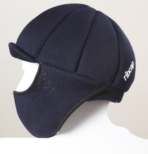 Ribcap Palmer navey blue - with face protection