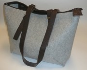 Daff Bag - CityShopper Merino Wool Felt