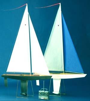 model sailboat - T-37 RC Sailing Yacht