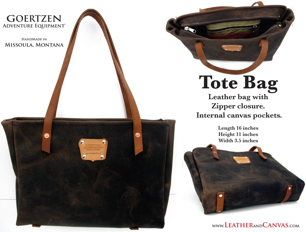 GOERTZEN EQUIPMENT:   Tote Bag
