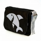 Urban Bag Canvas L, White Shark,