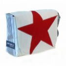 Canvasco Urban Bag Canvas S - Red Star