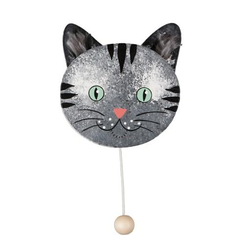 Grey Cat Music Box