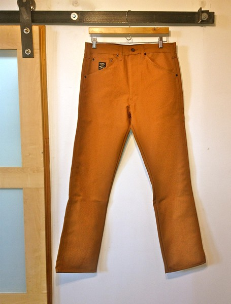 Pointer Brand - Raw Unwashed Jeans - Brown Duck Lot 141