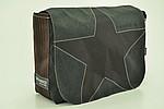Canvasco Urban Bag L c, Black Star