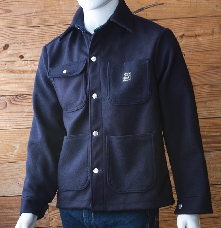 Pointer Brand - Wool Coat Navy - Lot 244 N