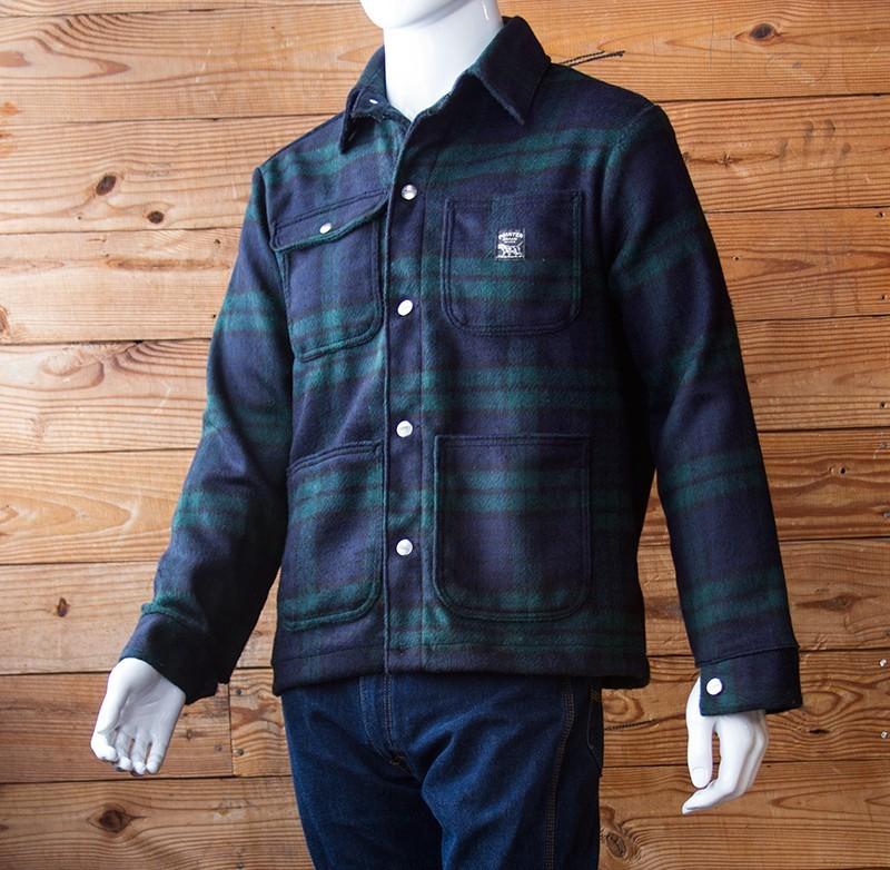 Pointer Brand - Wool Coat Black Watch, Lot 244w