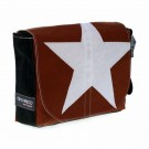 Canvasco Urban Bag Canvas S c - white star